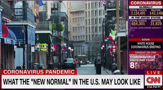 Propaganda alert: New normal is here to stay; 'Spit on' that, columnist says