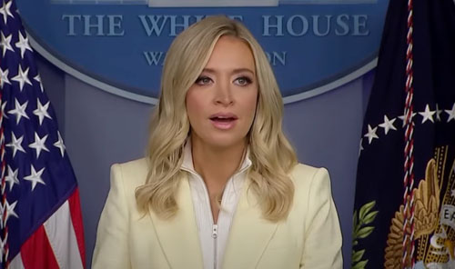 At White House, McEnany lists Flynn questions press corps failed to ask