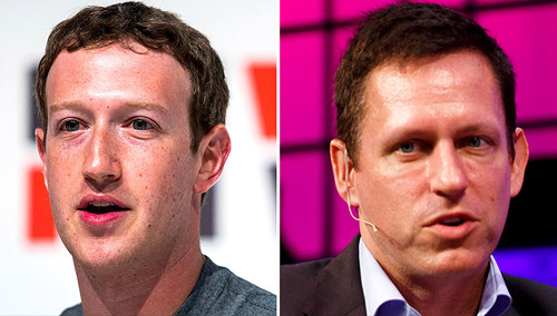 Peter Thiel's influence at Facebook is growing