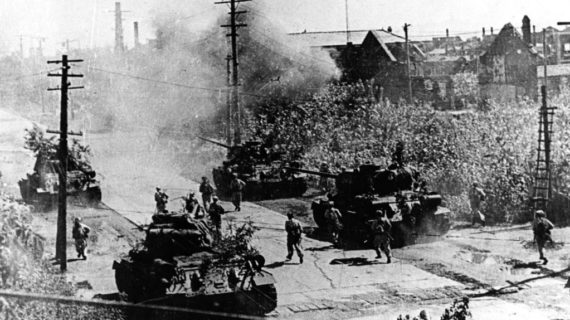 Dean Acheson's fateful speech and the outbreak of the Korean War on June 25, 1950