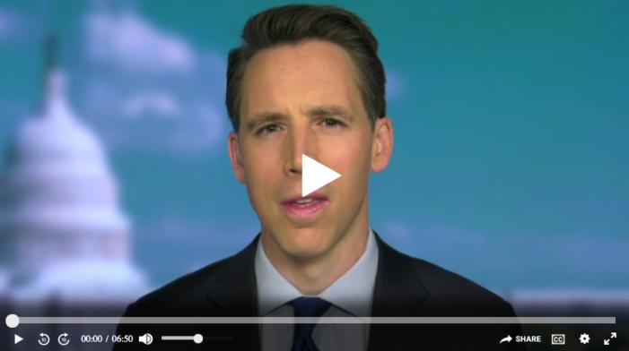 Hawley on Twitter fact-checking Trump: 'Big Tech' is subsidized by taxpayers and censors Americans
