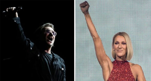 Celine Dion, Bono and UN Security Council musical chairs