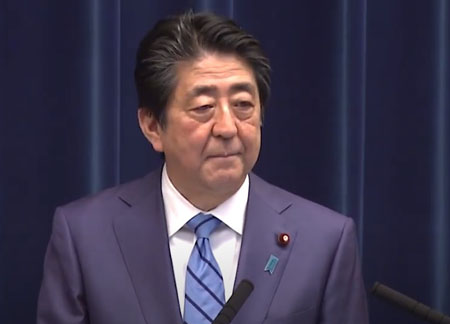 Japan's Abe calls for considering nation's preemptive strike capability