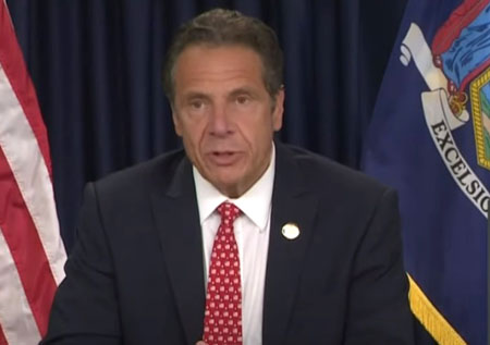 NY Gov. Cuomo with straight face: Toppling statues is a 'healthy expression of rage'