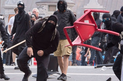 'Journalists' liken Antifa thugs to D-Day heroes