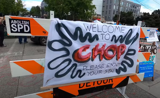 CHOP CHOP: Police-free autonomous zone residents bemoan 'unplanned donations'