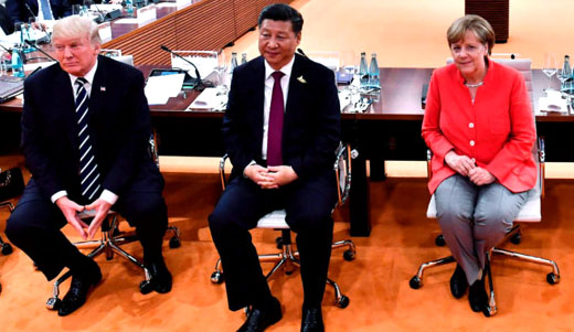 Prosperous Germany caught in the middle amid growing U.S.-China rift
