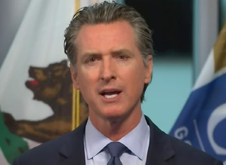 Judicial Watch asks court to halt California governor's 'vote-by-mail' mandate