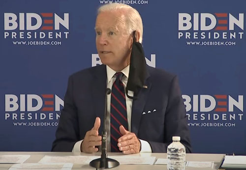 Biden imagines military removing Trump from office; calls George Floyd's death bigger than MLK's