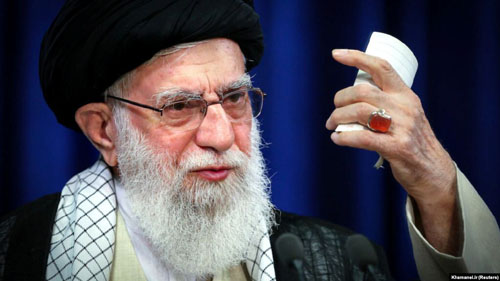 Khamenei teams up with U.S. Left: This is the 'true face of America'