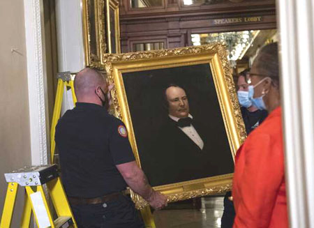 Pelosi orders 'immediate removal' of portraits of Confederate speakers, all Democrats
