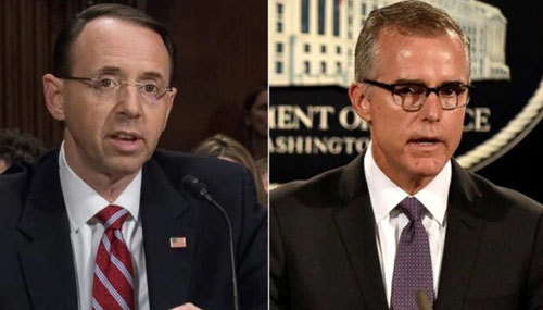 As Durham probe heats up, McCabe and Rosenstein blame each other for lying