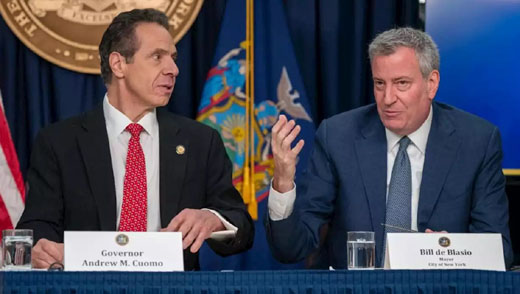Big Apple is in a death spiral . . . but Gov. Cuomo is 'happy'