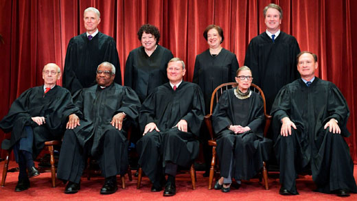Roberts joins liberal justices in striking down Louisiana abortion law