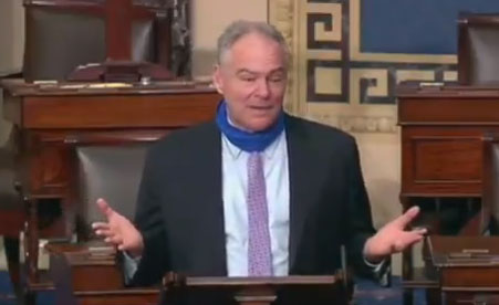 Democrat Sen. Tim Kaine: 'The United States didn't inherit slavery from anybody. We created it'
