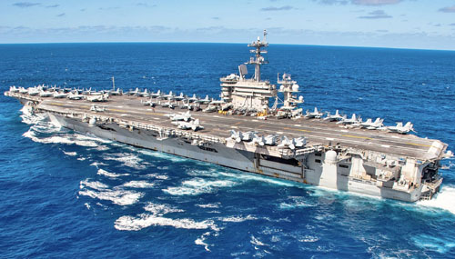 China exploited virus outbreak on U.S. aircraft carrier; USS Theodore Roosevelt back at sea