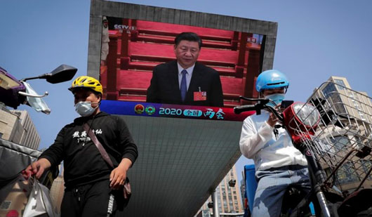 Propaganda war: Beijing boasts of 'new world order'; Video shows diplomats at riots