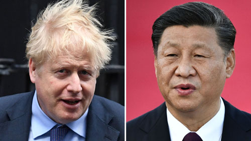 China threatens to 'strike back' at UK over 5G and Hong Kong