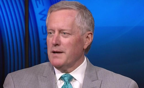 Meadows: President Trump only thing standing between Americans and 'mob'