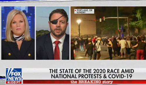 Crenshaw on 'well-coordinated' U.S. riots: 'What we are seeing is a hostage crisis'