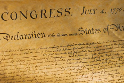 In Congress, July 4, 1776: The Declaration of Independence