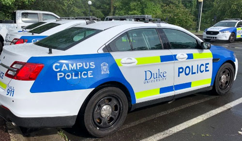 At Duke University, no voices raised in support of its campus police