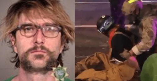 Antifa militant and convicted pedophile arrested for stabbing black Trump supporter