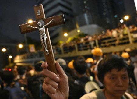 CCP already having chilling effect on religious freedom in Hong Kong