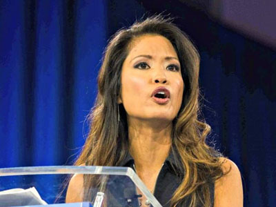WorldTribune columnist Michelle Malkin attacked by leftist mob at 'Back the Blue' rally