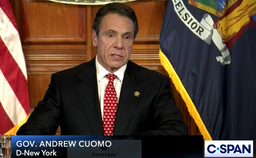 Cuomo continues to insist he's not responsible for covid nursing home deaths