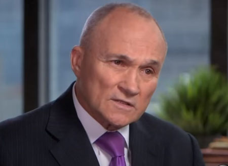 Democrat Ray Kelly: NYPD are 'backing off … crime is raging out of control'