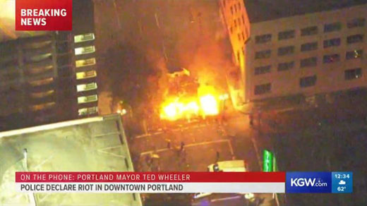 Laura Ingraham: What if it were pro-Life Christians rioting in Portland?