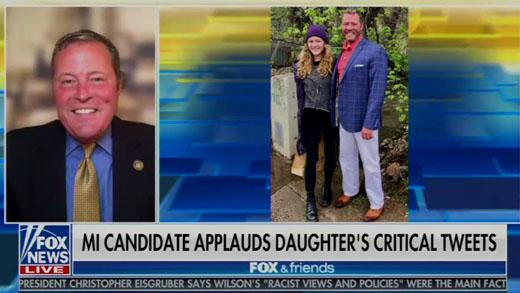 Losing our daughters? Michigan's Robert Regan and college graduate Stephanie