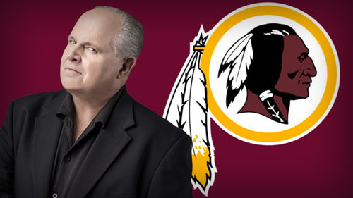 Limbaugh: Redskins are gone and nobody's happy