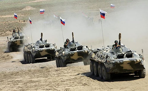 Russia conducts massive exercise with 150,000 troops, 400 planes, 100 ships