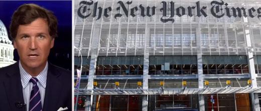 Tucker Carlson: NY Times threatening to 'reveal where I live'