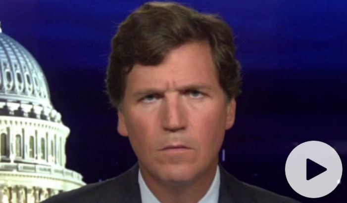 Tucker Carlson: In only 7 months, the USA has come to resemble China
