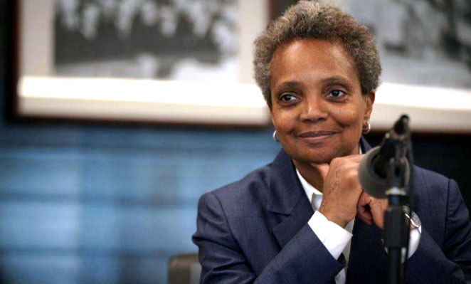 Chicago mayor bans protesters . . . on the block where she lives