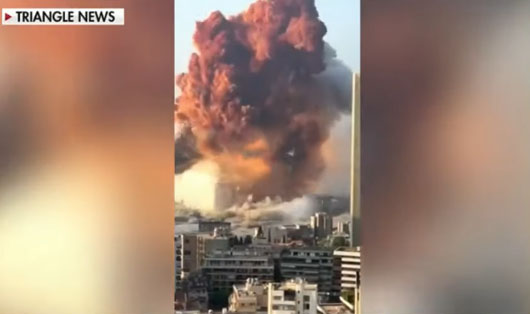 Beirut hit by massive explosion; Trump says 'bomb' caused 'terrible attack'