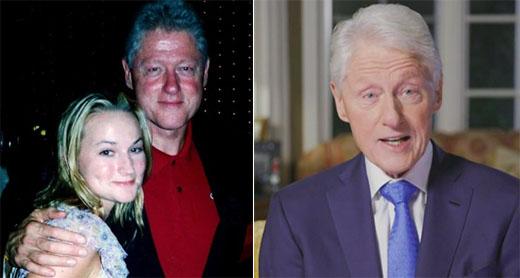Clinton lectures Trump on decorum as his Epstein photos go viral
