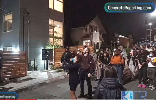 'We're bringing it to your front door': BLM mob demands whites move out of Seattle homes