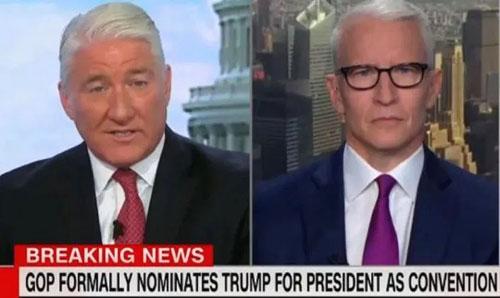 CNN cuts away from Trump RNC speech, citing 'outright lies'