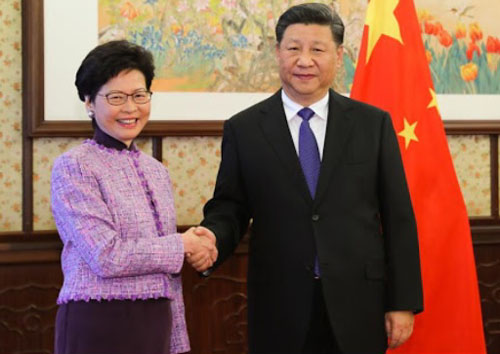 U.S. sanctions top, China-appointed Hong Kong official Carrie Lam