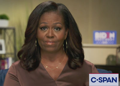 Michelle Obama says white people treat her like she's 'invisible'