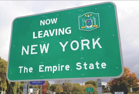 Escape from New York: State ranks 50th in economic outlook