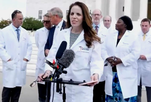 Doctor fired, web site taken down after viral video on hydroxychloroquine