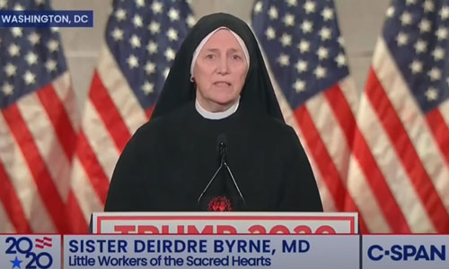 Sister Deirdre Byrne cites unborn as 'largest marginalized group in the world'