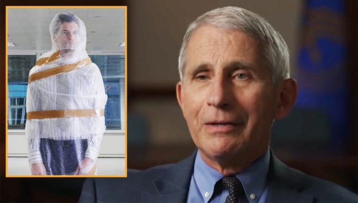 Americans can't be too cautious: Dr. Fauci advises use of bubble wrap