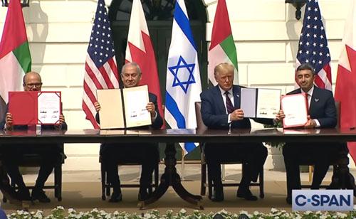 Mossad chief calls Mideast peace deals strategic game changer