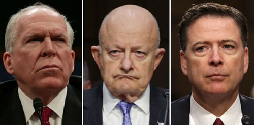 Subpoenas for Comey, Brennan, Clapper approved by Senate committee